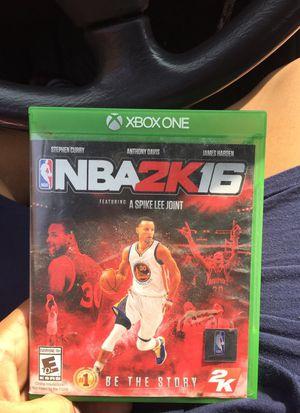 NBA 2k16 19.99$ for Sale in Cleveland, OH