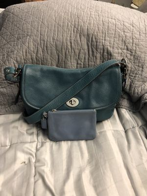Crossbody bag leather coach for Sale in Silver Spring, MD