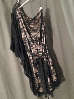 One shoulder dress Thumbnail