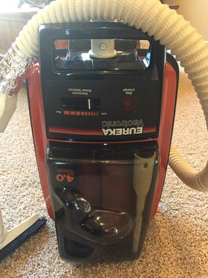 Vintage Eureka Canister Vacuum Vactronic 1790 B for sale  Claremore, OK