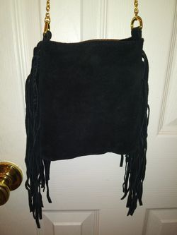 Mossimo Genuine Suede Purse Thumbnail