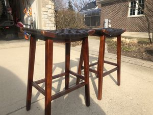 Outstanding New And Used Wooden Stool For Sale In Lombard Il Offerup Bralicious Painted Fabric Chair Ideas Braliciousco