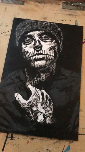 "Original Painting Art ""Rick Genest"" Zombie Boy for Sale in Atlanta, GA"