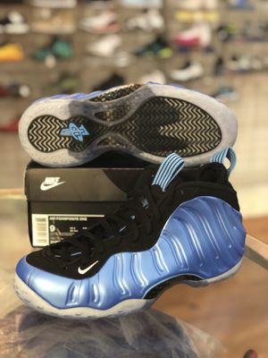 Brand new University blue foams size 9 for Sale in Silver Spring, MD