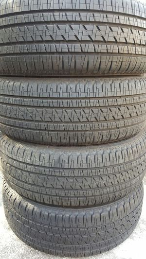 (2) 255/55/20 BRIDGESTONE DULLER 100% TREAD TAKE OFFS TRUCK JEEP SUV for Sale in Tampa, FL