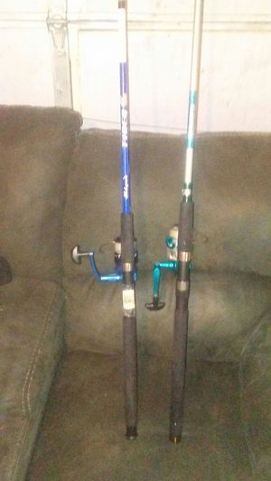 Fishing poles and reels for Sale in Los Angeles, CA