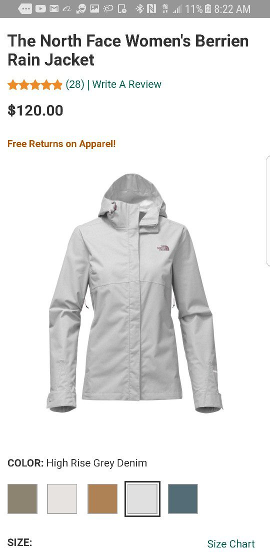 North Face Women Berrien Jacket Medium And Xl For Sale In Seattle