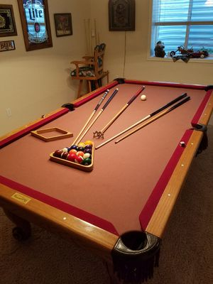 CONELLY FULL SIZE POOL TABLE&PUB TABLE ALL ACCESSORIES LIKE NEW RETAIL $3,500 for Sale in Salt Lake City, UT