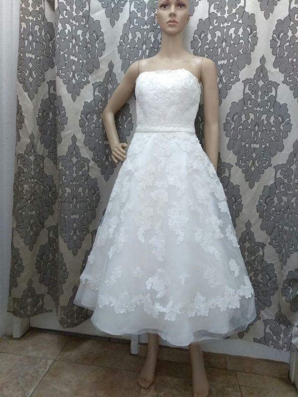 Galina Ivory wedding dress size 2 (Clothing & Shoes) in Riverside ...