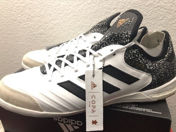335c2a4a4 Adidas Copa Tango 18.1 IN Indoor Soccer White Black Gold CQ0132 retail  160  Mens US 13