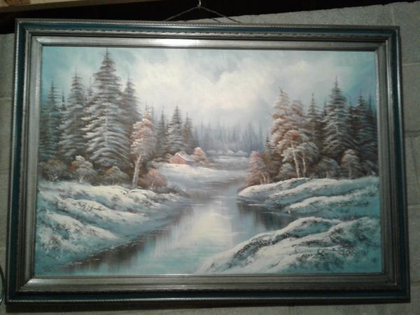 Starving artist painting for Sale in Evansville, IN - OfferUp