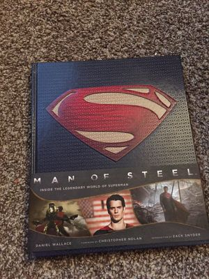 SUPERMAN MAN OF STEEL BOOK for Sale in Columbus, OH