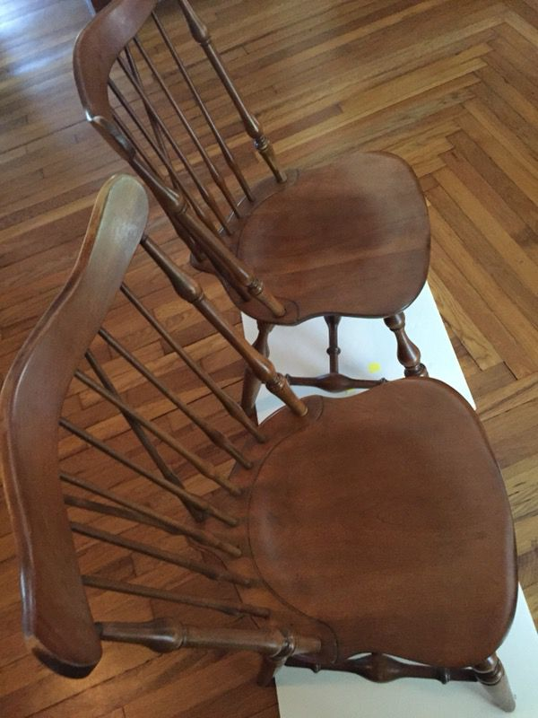2 Rockport Maple 107 Chairs
