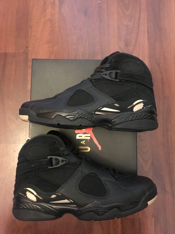 outlet store 540e5 4559c Air Jordan 8 retro Ovo Black Men Size 9.5 for Sale in Orlando, FL - OfferUp