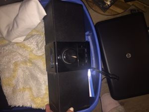 Logitech iPod / iPhone speaker system with remote for Sale in Pittsburgh, PA