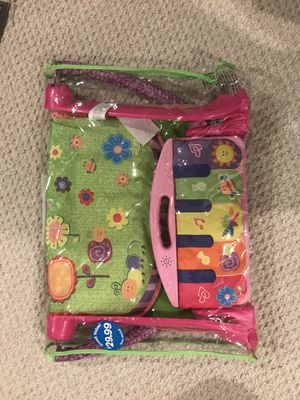 girls tummy time piano mat for Sale in Leesburg, VA
