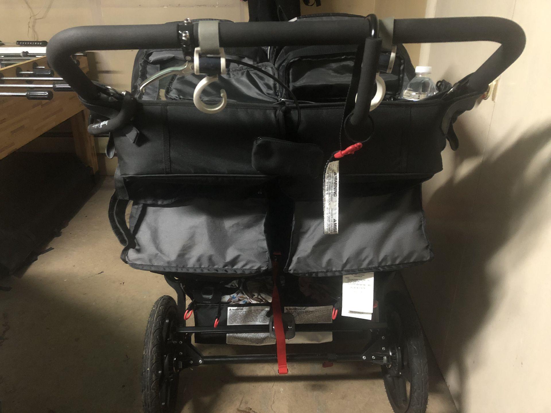 Bob Revolution Duallie Double Stroller