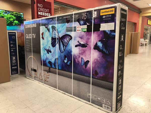 """75q65f 75"""" Samsung Qled hdr 4k Smart Tv for Sale in Norwalk"""