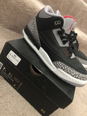 Air Jordan 3 OG Black / Cement Grey 2018 Retro for Sale in Sterling, VA