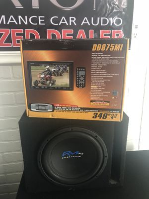 "Single box dvd and subwoofer 10"" for Sale in Kissimmee, FL"