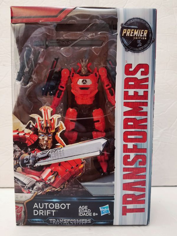 AUTOBOT DRIFT Transformers the Last Knight Hasbro Premiere edition deluxe  class Hasbro action figure NEW for Sale in West Covina, CA - OfferUp