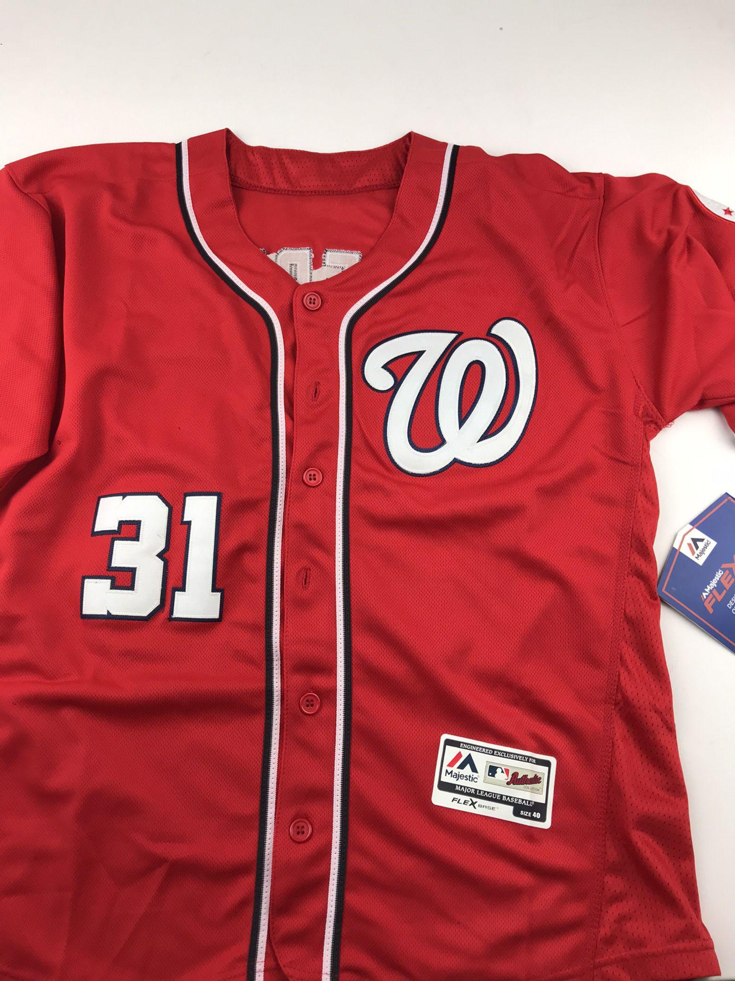 Washington nationals jersey XL and L