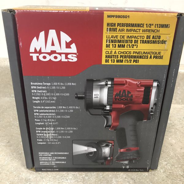 By Photo Congress || Mac Tools 1 2 Air Impact Wrench