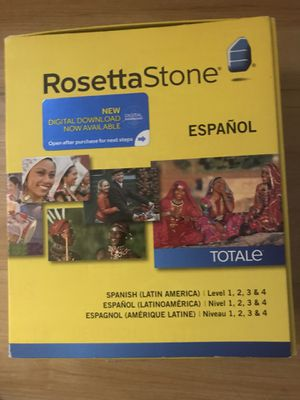 Rosetta Stone espanol for Sale in CHRISTIANSBRG, VA