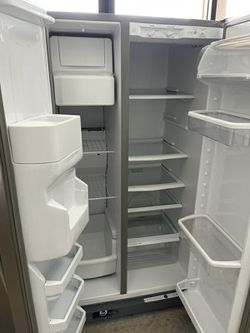 *TEMPORARY PRICE* Whirlpool Stainless Steel Side by Side Fridge Thumbnail