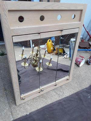 medicine cabinets wooden frame W28×H34 for Sale in Adelphi, MD