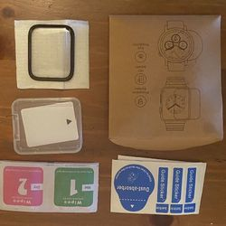 New iwatch tempered glass screen cover for 42mm-44mm Thumbnail