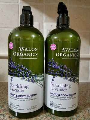 Avalon organic lavender lotions (32oz) for Sale in Annandale, VA