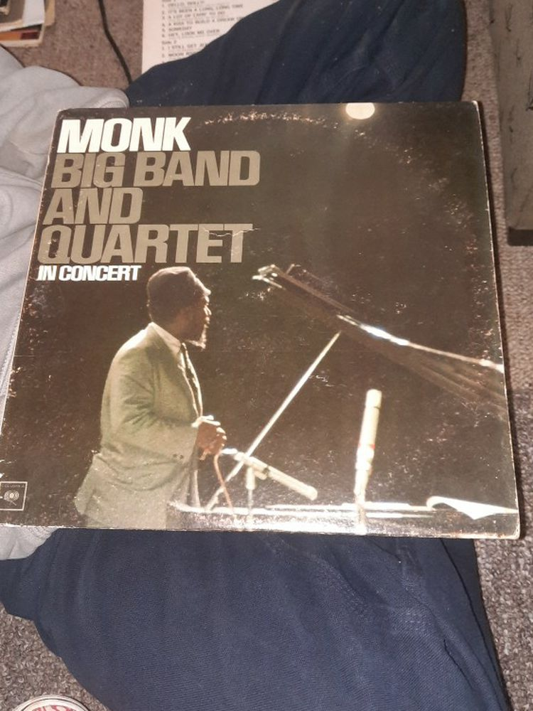 Monk Big Band And Quartet In Concert