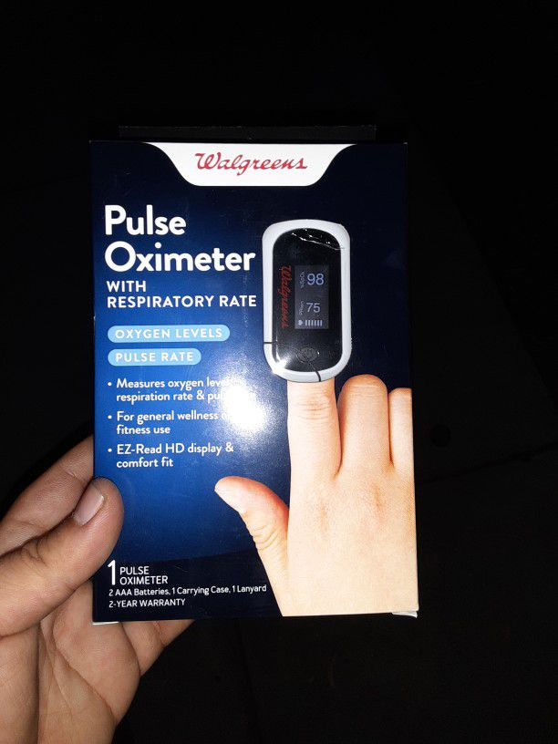 Pulse Oximeter With Respiratory Rate