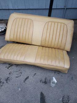 71-74 Dodge B Body Rear Seat  Thumbnail