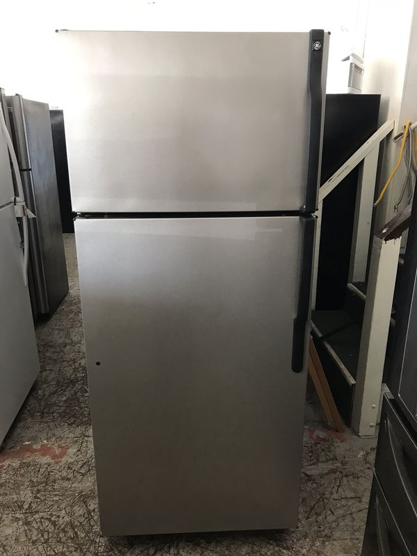 Ge apartment sizes refrigerator gray color for Sale in ...