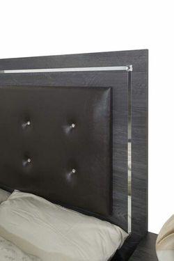 HOT DEAL] Alessia Gray Queen Headboard Bedroom Set   Thumbnail
