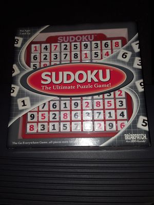 Suduko puzzle game for Sale in New London, OH