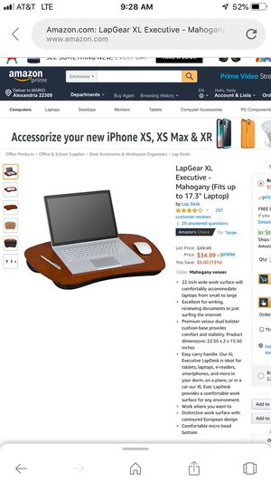 Lad gear xl executive monogamy /fits up to 17.3 laptop for Sale in Fort Hunt, VA