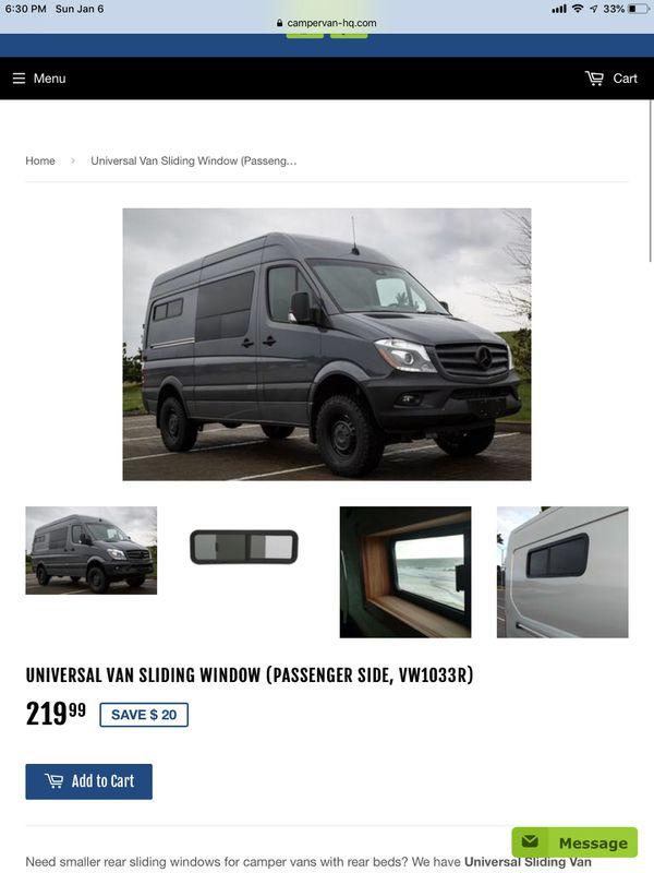 C R  Laurence VW1033R camper van window for Sale in San Diego, CA - OfferUp