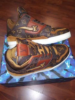 Louis vuitton sneakers size 44 Thumbnail