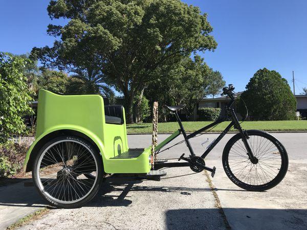 8eb990cc1e2 Mainstreet Pedicab Broadway Rickshaw USA MADE with canopy for Sale ...