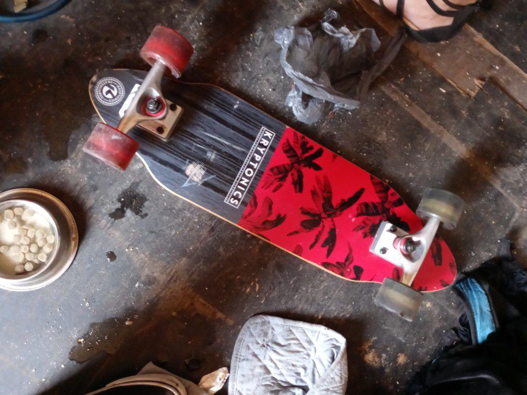Kryptonite skateboard