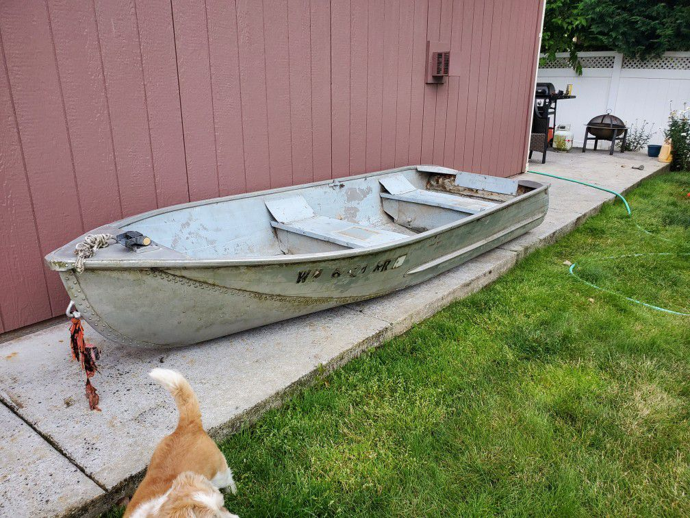 Photo 12 Ft Sears Aluminum Boat