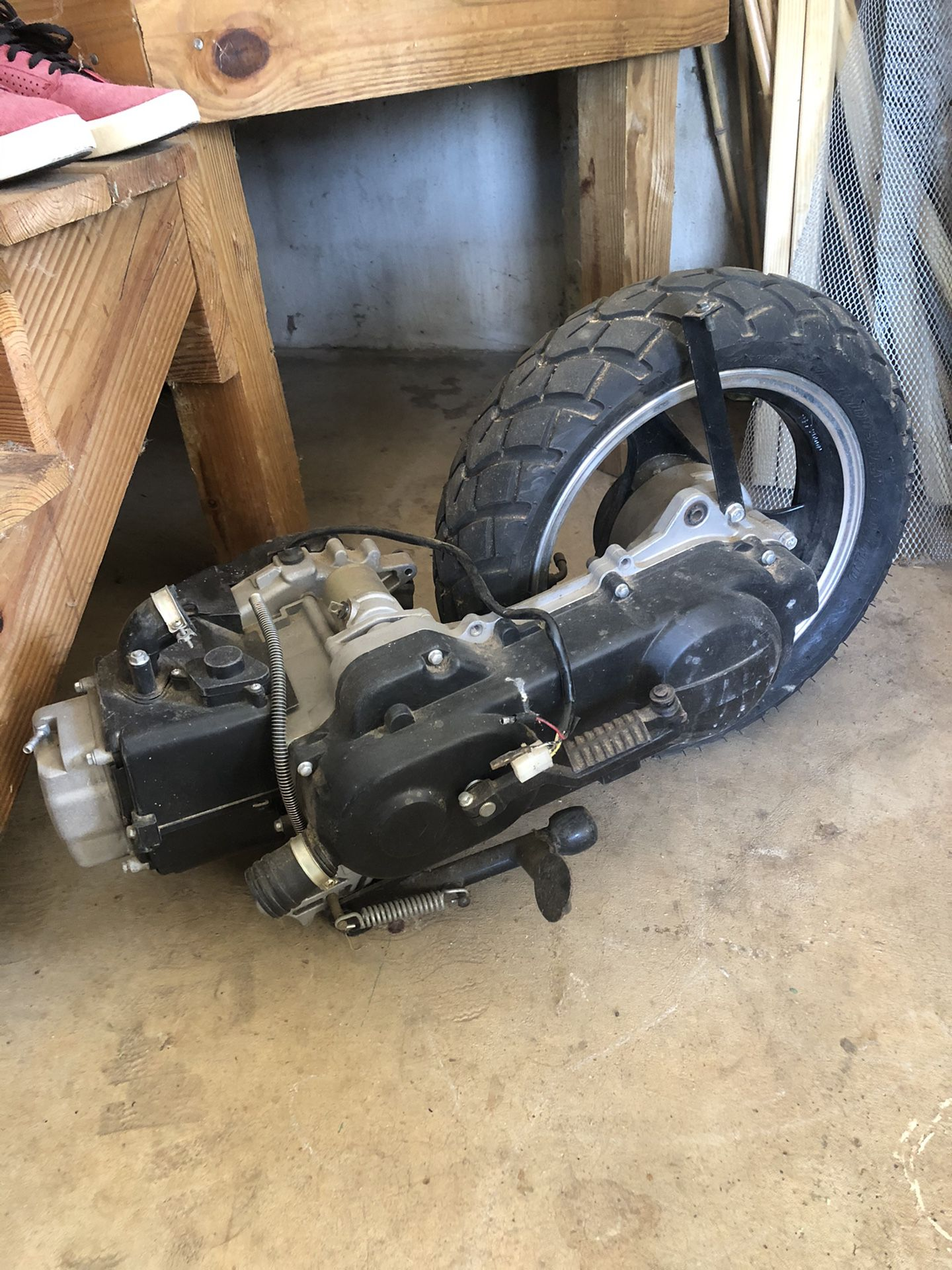 50 cc Scooter Motor And Performance Parts