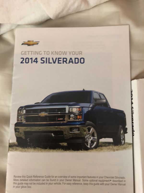 manual silverado 2014