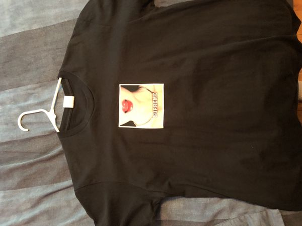 68fd73a26 Supreme Necklace tee Black Medium for Sale in Queens, NY - OfferUp