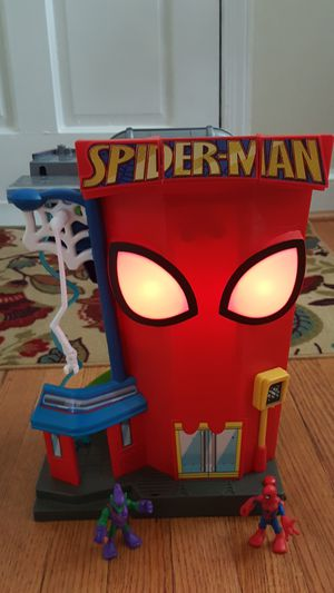Imaginex Spider man Foldable playset for Sale in Arlington, VA