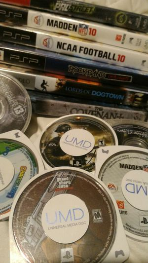 Used, PSP Games and UMD Movies for sale  Catoosa, OK