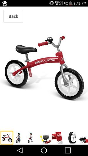 Balance bike by Rydio Flyer for Sale in Fishersville, VA